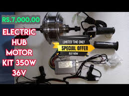 350W 36V Electric Hub <b>Motor Kit</b> for Rs.7000.00 || #EVBasics ...