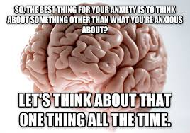 Image result for scumbag brain over think