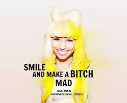 Nicki Minaj on fleek! on Pinterest   Nicki Minaj, Quote and ... via Relatably.com