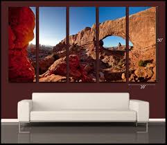 Arches Limited Edition Gallery Wrapped Canvas <b>Wall Display</b>