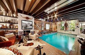 Concept Indoor Pool House For Sale In Homes Intended Home Shoisecom Innovation Ideas