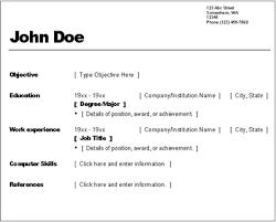 creating basic resume   job application letter samplecreating basic resume creating your rsum myfuture screenshot of resume wizard basic guideline