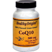 Healthy Origins CoQ10, Kaneka Q10, <b>100</b>% Natural, 300mg, 60 CT