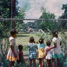 Image result for black kids watching white kids play