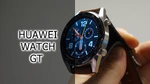 Обзор смарт-часов Huawei Watch GT - YouTube