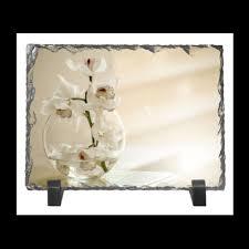 """Каменная рамка """"Нежные орхидеи"""" #2426410 от fun2fans - <b>Printio</b>"""