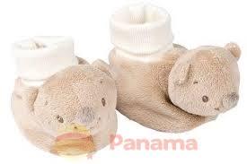 """Пинетки """"<b>Мишка</b> Базиль"""" - Nattou арт.: 700816 - <b>Panama</b>.ua"""