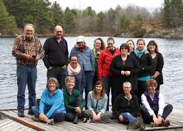 home cultural studies the cultural studies steering committee on retreat at elbow lake in 2016