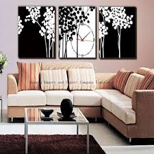 creative living room ideas design: precious ideas for living room decoration plans  piece wall arts with s m l f