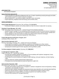 professional administrative assistant resumes | Template professional administrative assistant resumes
