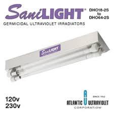 SaniLight® <b>UV</b> Irradiating Fixtures Two Lamp <b>High Output</b> ...