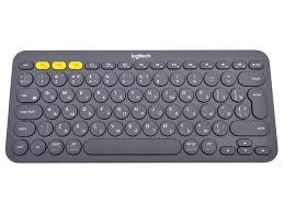 <b>Logitech Logitech</b> K380, Dark Grey беспроводная <b>клавиатура</b> ...