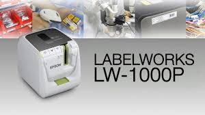 <b>Epson LabelWorks LW</b>-<b>1000P</b> Label Maker - YouTube