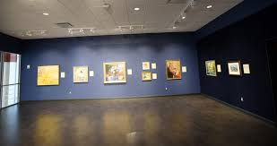 the fisherwall art gallery is an 1800 square foot space with more art gallery track lighting