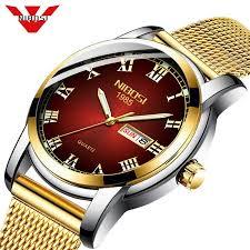 NIBOSI Couple Watch Top Brand <b>Luxury Lovers Watches</b> Quartz ...