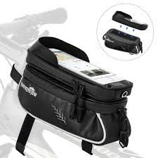 : AutoWT <b>Bicycle</b> Phone Mount <b>Bags</b>, <b>Waterproof Bike</b> Tool <b>Bag</b> with ...