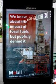 600 fake outdoor ads in paris blast corporate sponsors of the cop21 climate talks brandalism anti advertising agency office