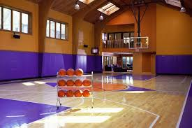 Modern Indoor Home Basketball Courts Plans and Designsindoor home basketball courts in summer houses