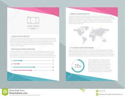 vector flyer template design front page and back page vector flyer template design front page and back page business brochure or cover