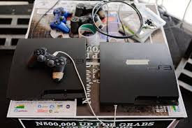 gaming in west africa photo essay polygon these playstation 3 systems are for a fifa and pro evolution soccer tour nt being held by major gaming league in ikeja mall lagos