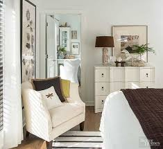 layering a small master bedroom in multiple tones of white creates an atmosphere of tranquility and spaciousness in this airy retreat walls and trim dress bhg bedroom ideas master