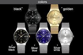 <b>WWOOR</b> Free gift <b>Mens</b> Watches <b>Top Brand</b> Luxury Waterproof ...