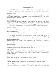 How to write the acknowledgements for dissertation   mgorka com Acknowledgments   L rd Dissertation