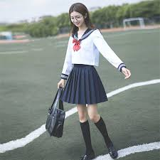 High <b>School</b> Uniform <b>Japanese Style</b> Sailor Anime Skirts Korean ...