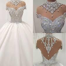 Luxury Crystal Puffy <b>Wedding Dress</b> Online Shopping | Luxury ...