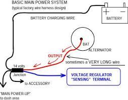 three wire alternator wiring diagram wiring diagram 3 wire alternator wiring diagram chevy