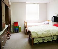 rooms are meant for double occupancy and have two desks and adequate storage space for two residents additional storage is available in the basement adequate storage space