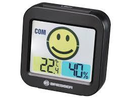 <b>Погодная станция Bresser MyTime</b> Travel Alarm Clock Black | baba ...