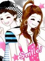 gambar kartun korea lucu, imut, cute dan cantik