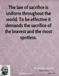 Law Of Sacrifice Quotes. QuotesGram