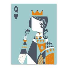 Aliexpress.com : Buy <b>Poker King</b> Queen Minimalist Love Couple ...