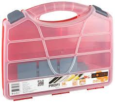 Купить <b>органайзер plastic centre</b> blocker <b>profi</b> 38 пц3722 красный ...
