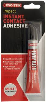 bostik evo stik impact instant contact high strength adhesive glue bostik evo stik impact instant contact high strength adhesive glue tube 30g