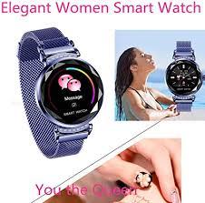 Fashion Smart Watch for Women, Female Blood ... - Amazon.com
