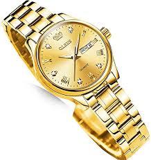 OLEVS Gold Watches for Women, Luxury Ladies ... - Amazon.com