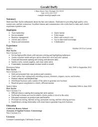 resume salon manager resume salon manager resume image full size