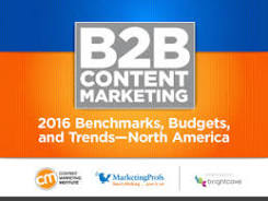 2016 Benchmarks, Budgets, and Trends—North America