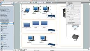 how to draw a computer network diagrams   network diagram software    network diagram software for mac os x and windows
