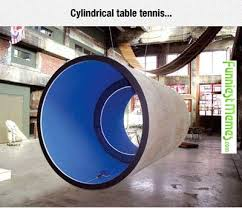 FunniestMemes.com - Funny Memes - [Cylindrical Table Tennis...] via Relatably.com