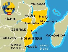 Resultado de imagem para mapa moçambique africa do sul