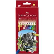 "Цена на Набор <b>карандашей цветных Faber</b>-<b>castell</b> ""Jumbo"" <b>10</b> шт ..."