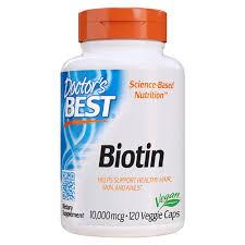 <b>Биотин 10000 мкг 120</b> капс. Doctor's Best