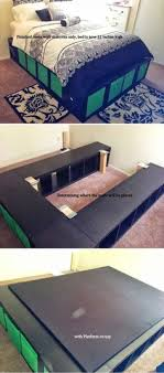 ikea hack platform bed check beautiful diy ikea
