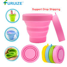 <b>Menstrual Sterilizing Cup</b> Collapsible Silicone <b>Cup</b> flexible to clean ...