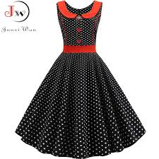 2019 <b>Summer</b> Polka Dot Dress Women Short Sleeve Robe Femme ...