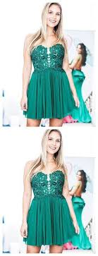 <b>2019</b> A-<b>line</b> Green Short Prom Dress Sweetheart <b>Lace</b> Short Prom ...